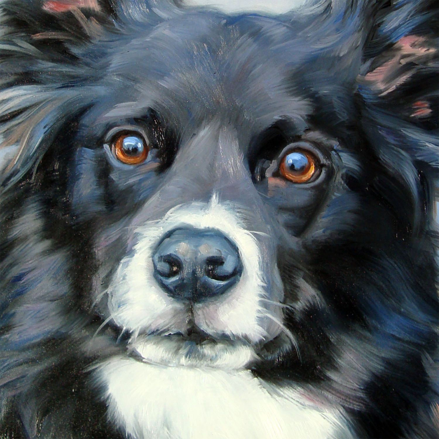 Custom Painting,pet portrait,oil painting,painting from