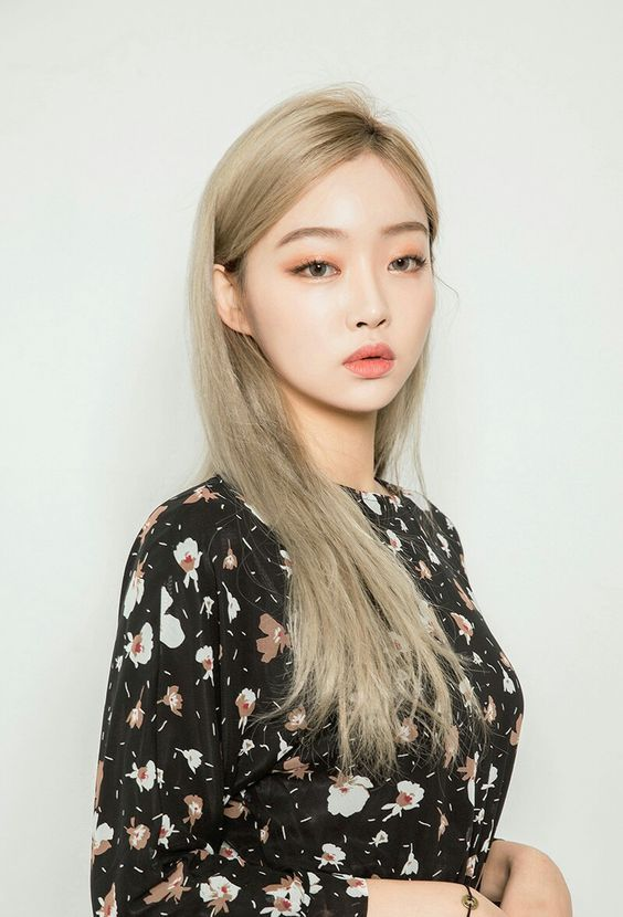 Ash Blonde In 2019 Korean Hair Color Blonde Hair Korean