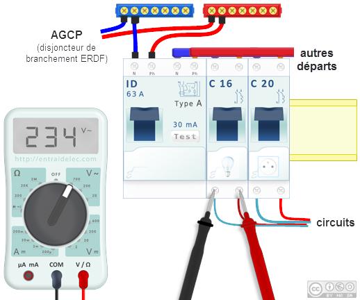 Multimetre Mesure De La Tension Diy Science Technology Electricity