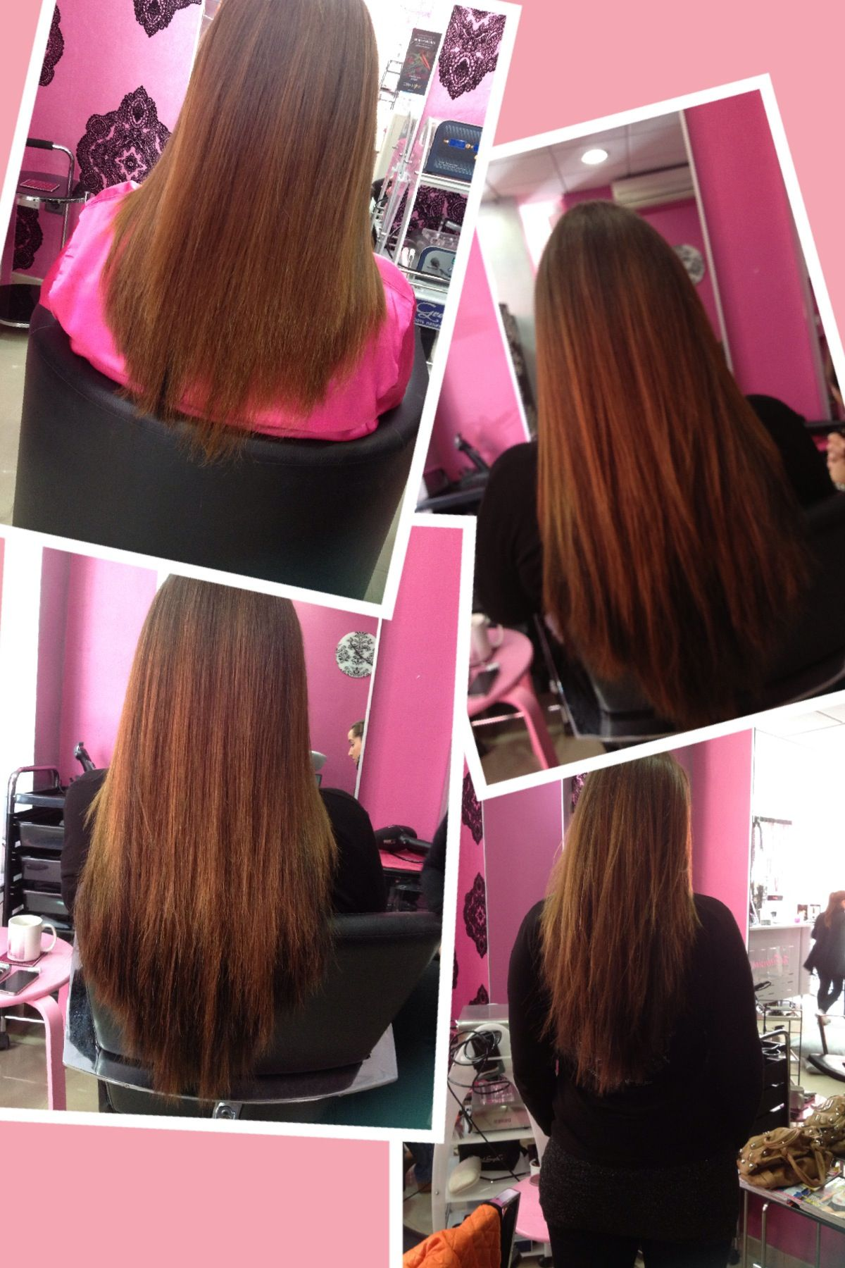 Hair Extensions By The Extension Shop Hair Extensions Pinterest