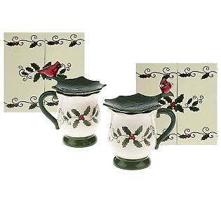 Temp Tations Figuralcardinal Ceramic Covered Mug W Gift