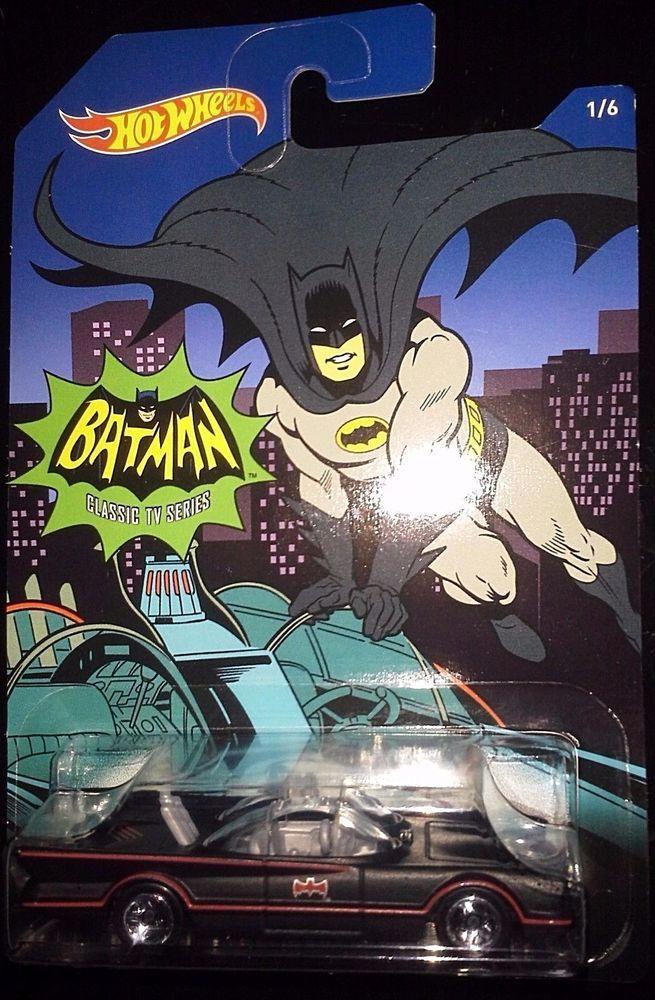 Mattel Hotwheels Batman//6 Coches en Set Hot Wheels DFK69 Año 2014 Hot Wheels