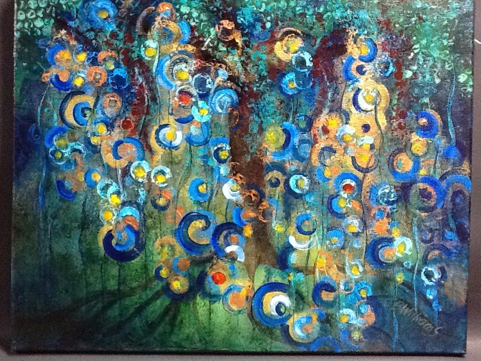 The Garden of Eden 16x20 by JBWilliams. SOLD Painting