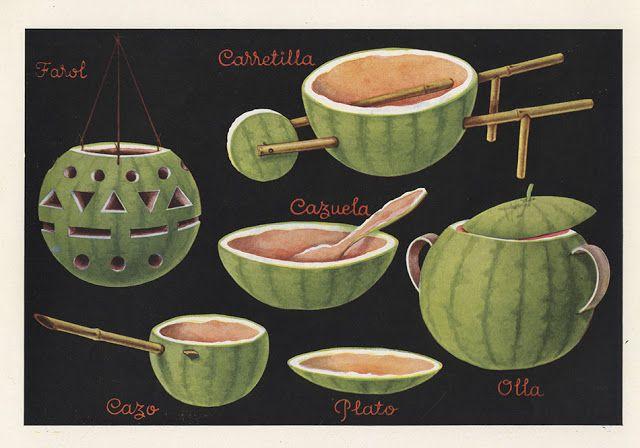 46 trabajos manuales hechos con corcho, sandía, limón, cerezas