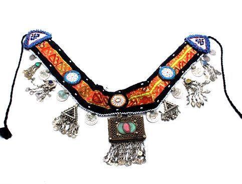 Dancing Warrior Kuchi Tribal Belt