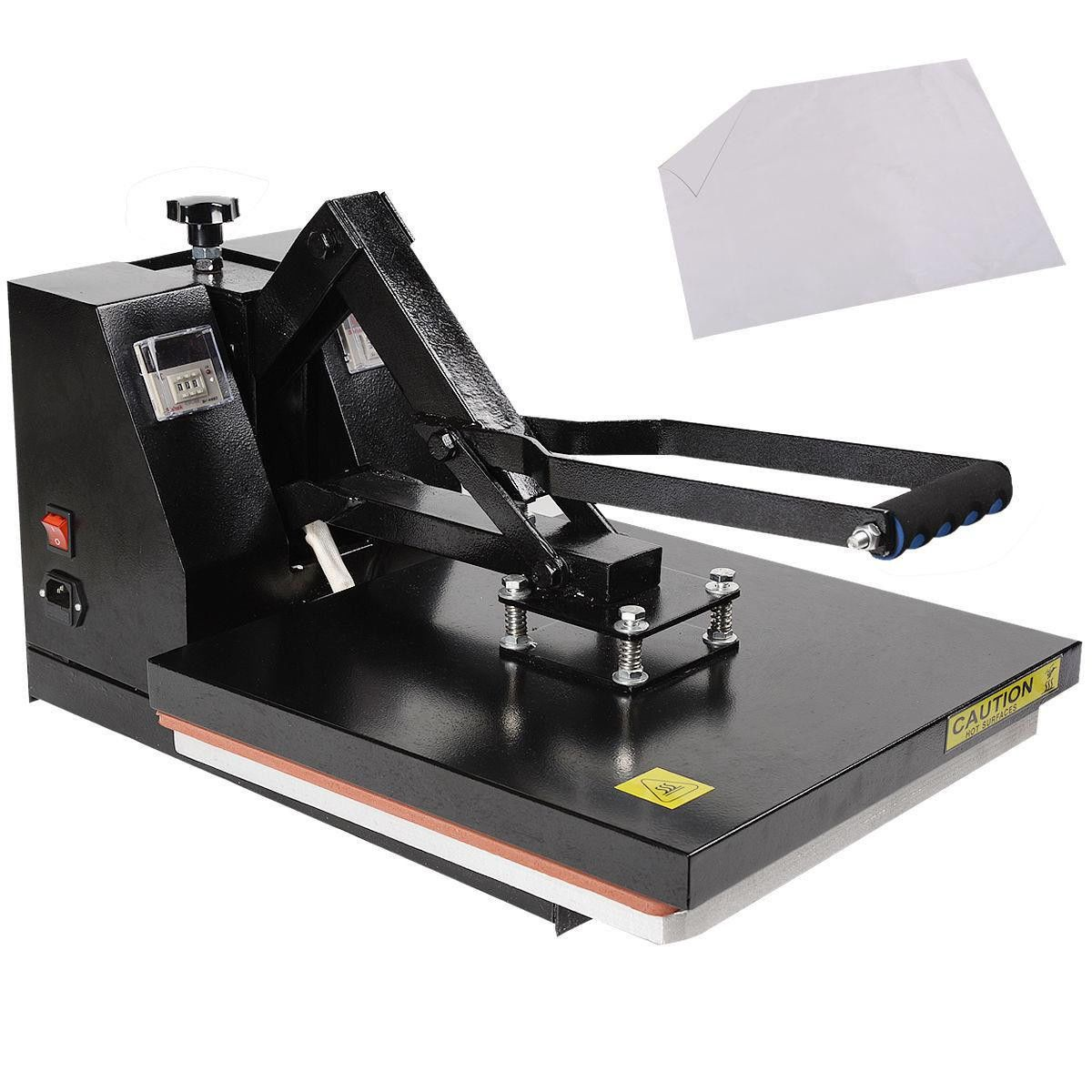 New Digital Clamshell Heat Press Transfer T Shirt Sublimation