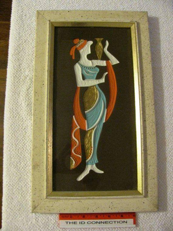 Reserved - klockridge Vintage 1960\'s Turner Wall Art G764 Grecian ...