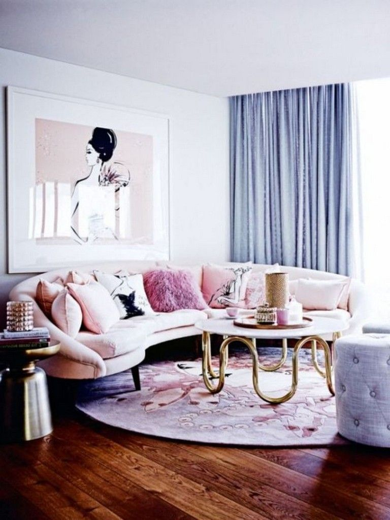 55 Luxury Feminine Living Rooms Decoration Ideas Feminine Livingroomdecor Livingroomdecorideas Apartment Decor Living Room Decor Living Room Inspiration