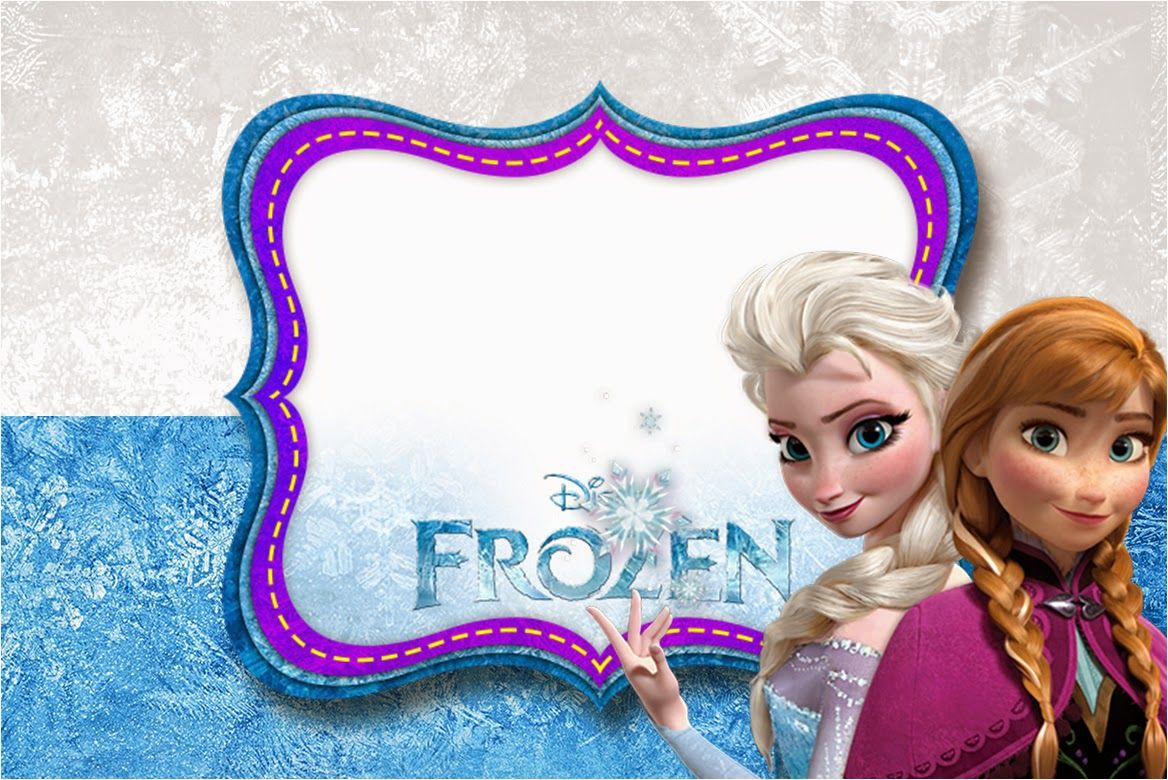 Free Disney Frozen Birthday Invitations ~ Frozen nevando invitaciones para imprimir gratis frozen