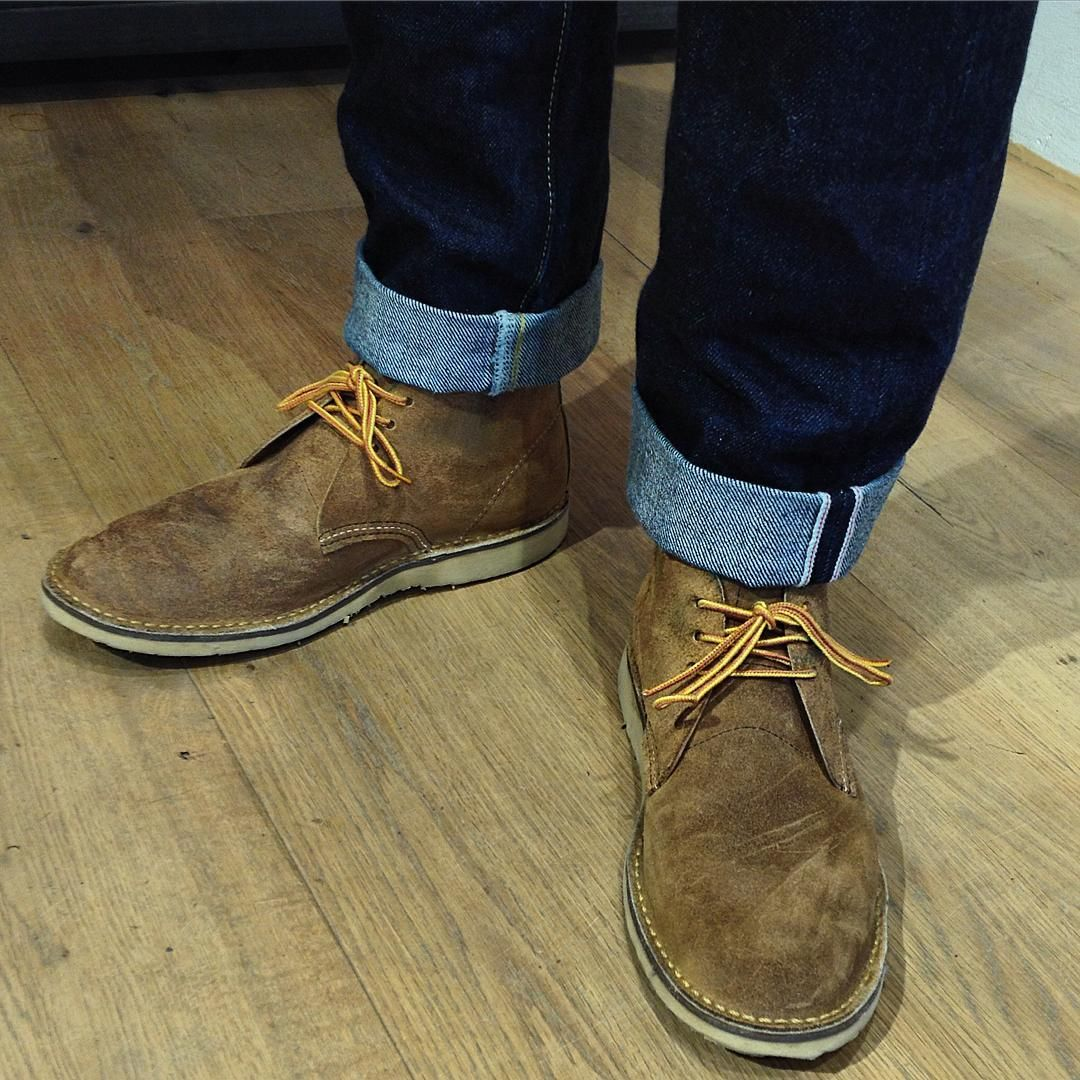 bd84d1f6c150d Pin by m h on Chukkas   Pinterest   Red wing chukka boots, Red wing ...
