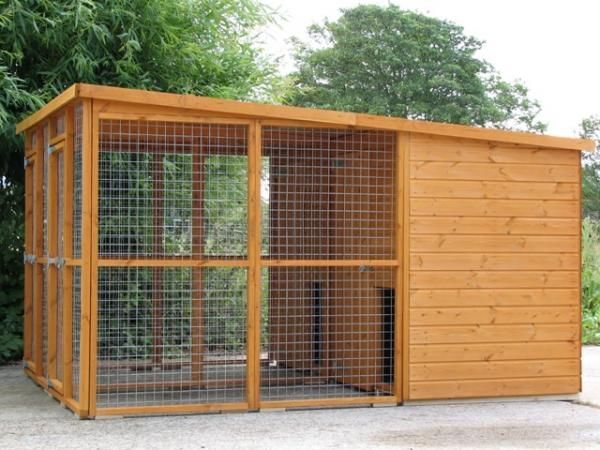 Used Dog Kennels Sale Avon Double Cat Run Dog Kennel And