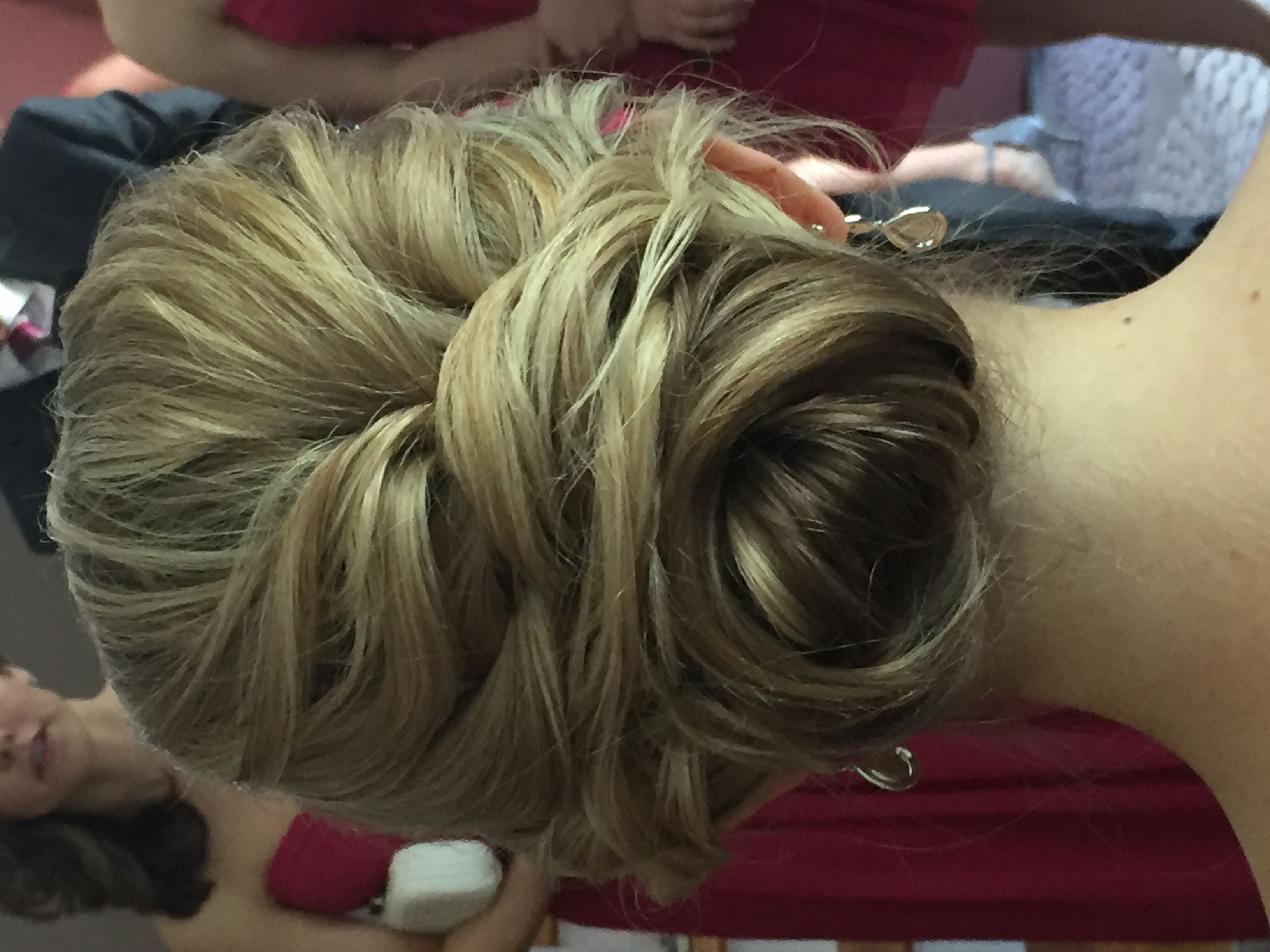 Soft Romantic Updo Red Carpet Ready By Sarah Red Carpet Looks