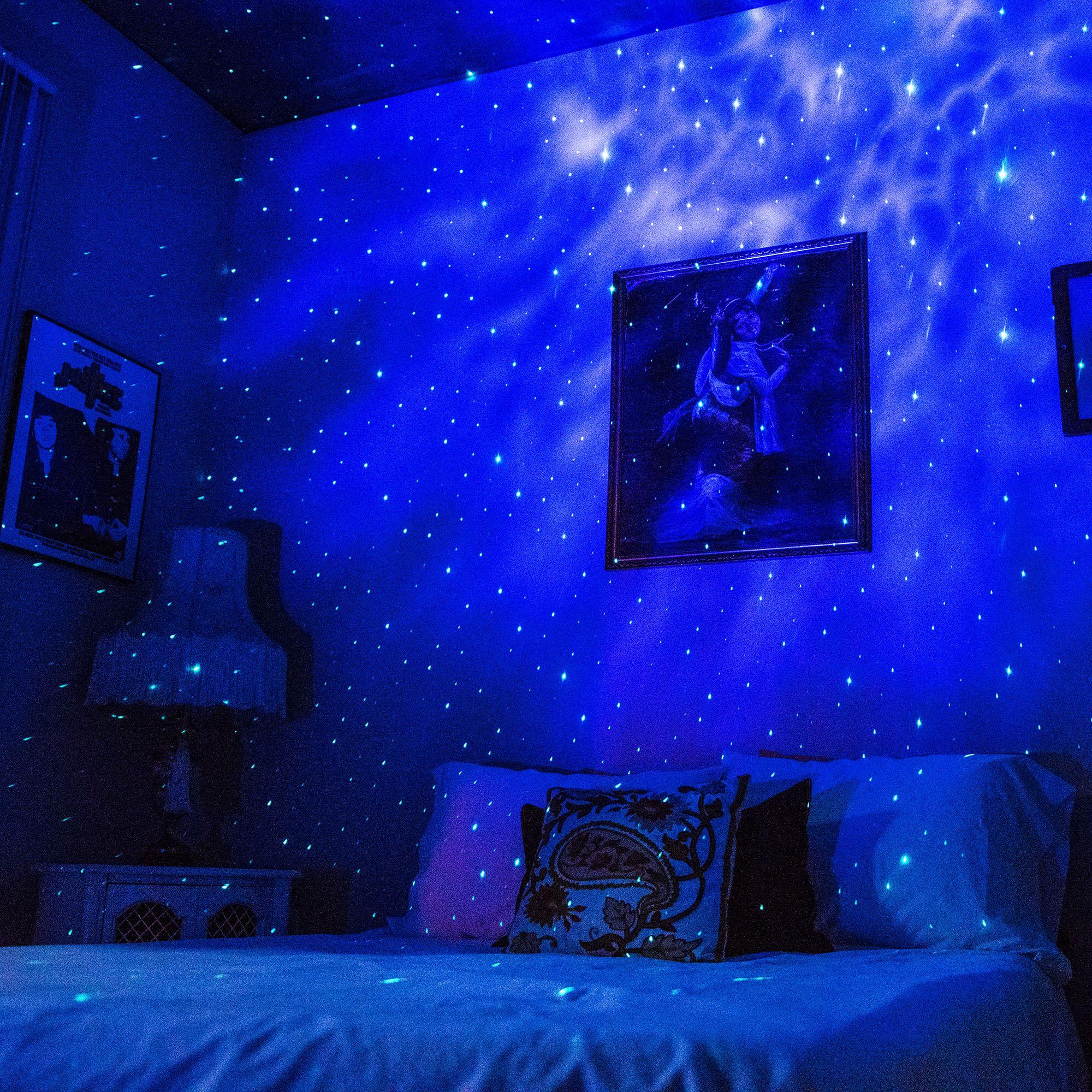 10 Easy Diy Galaxy Decor Ideas Galaxy Bedroom Blisslights Galaxy Lights