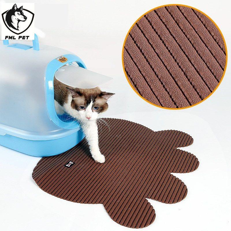 Large flushable cat litter box Cat litter mat, Flushable