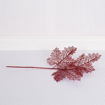 Adams & Co Leaf Pick Color: Red