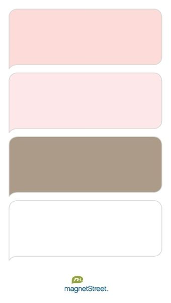 Teaberry, Cream Rose, Ashwood, and White Wedding Color Palette | Wedding Color Trends | MagnetStreet Weddings
