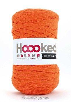 Pelote de laine ribbon xl DMC dutch orange