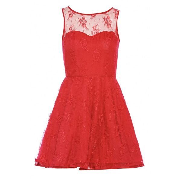 Ax Paris Skater Lace Kick Out Dress 1 255 Php Liked On