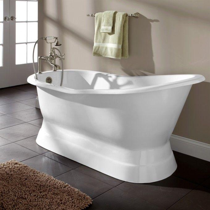 68 Ryan Cast Iron Slipper Pedestal Tub Bathtubs Bathroom