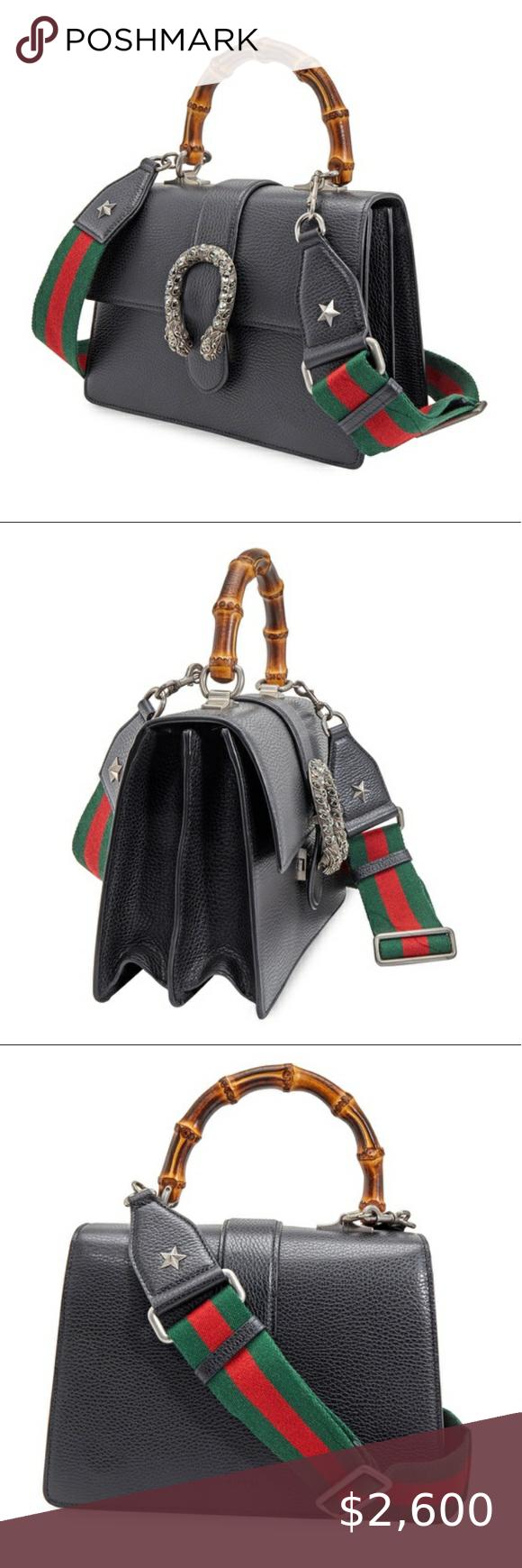 Gucci Ladies Dionysus Bamboo Top Handle Bag Gucci Bags Gucci Bag