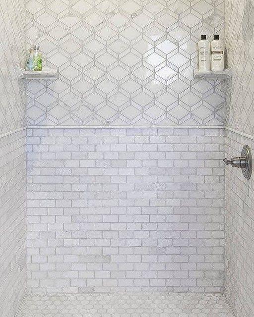 Tempesta Neve Polished Wheaton Marble Mosaic Tile 12 X