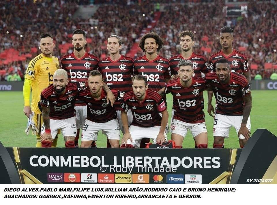 Flamengo 5 X 0 Grêmio Semi Final, TAÇA LIBERTADORES 2019
