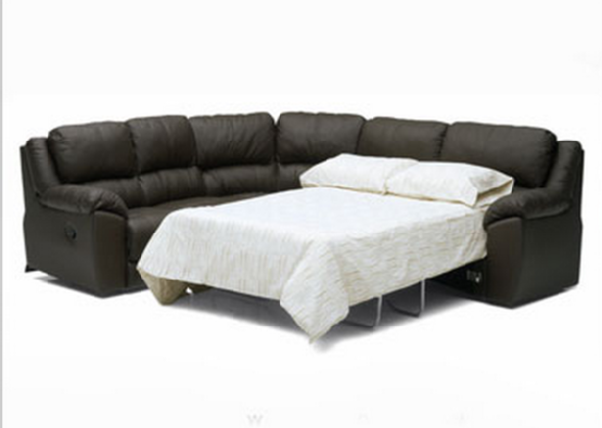 White Leather Sofa Good Sectional Sofa With Bed