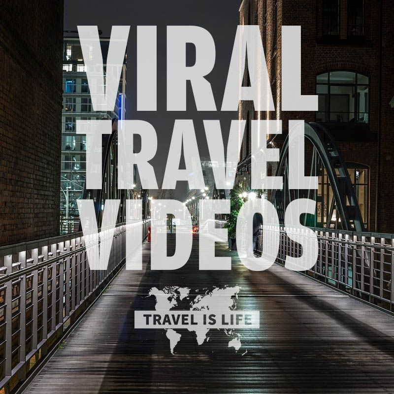 Viral Travel Videos | Watch popular videos about traveling the world. Brought to you by TravelisLife.org.