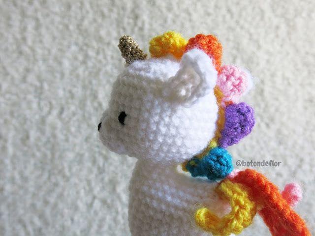 Unicornio patrón amigurumi unicornio patron espaol patrones | Etsy | 480x640