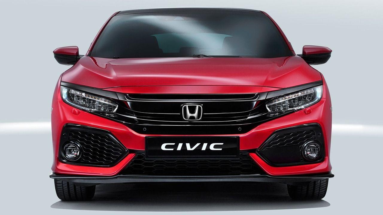 2017 Honda Civic Hatchback Debuts In Euro Guise Honda Civic Honda Hatchbacks
