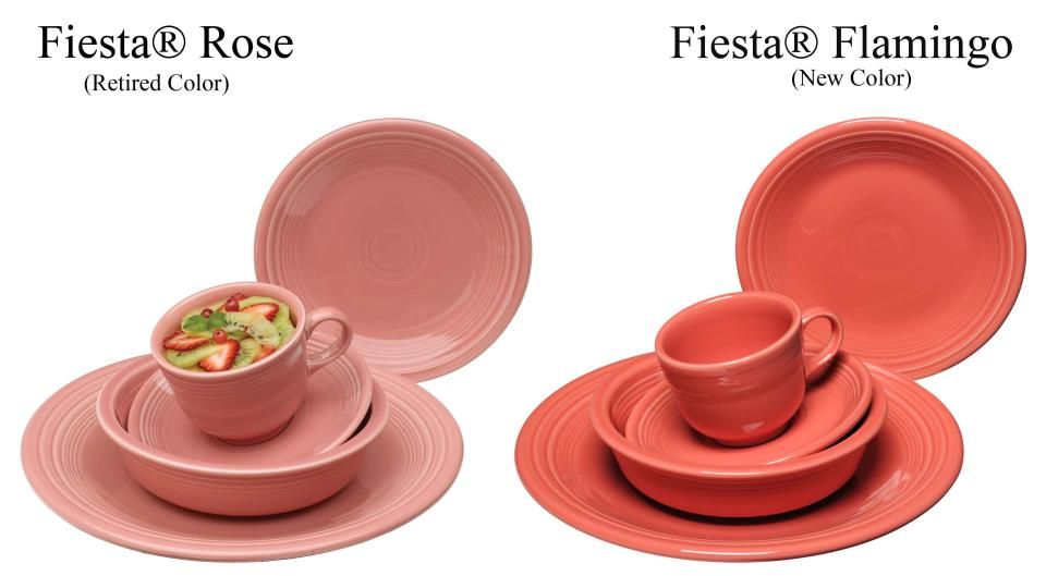 """COOKIE TRAY 12/"""" RETIRED COLOR Fiesta Ware ROSE PIZZA"""