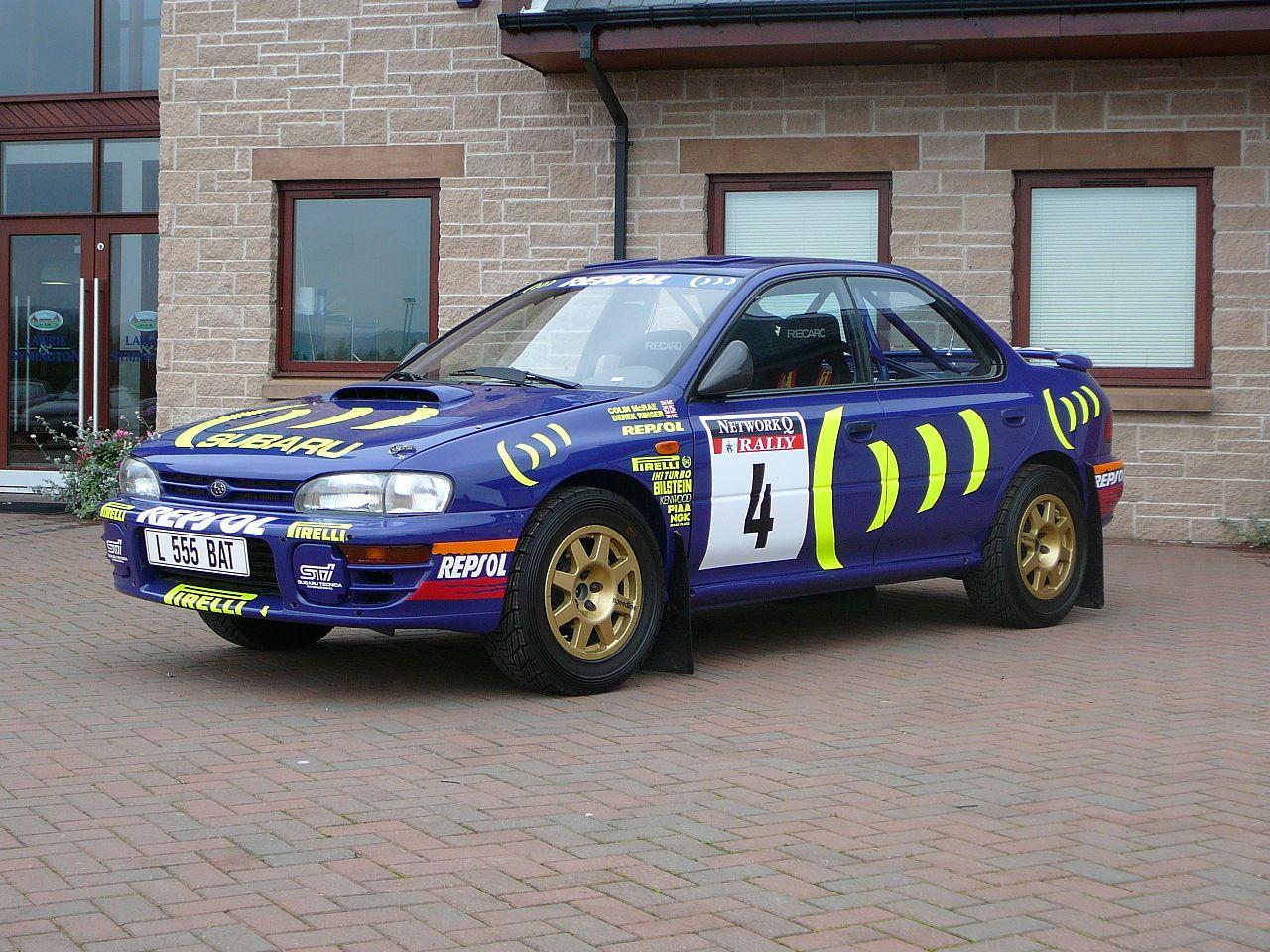 Flickr bjmullan colin mcrae s 1995 world championship winning subaru impreza subaru impreza