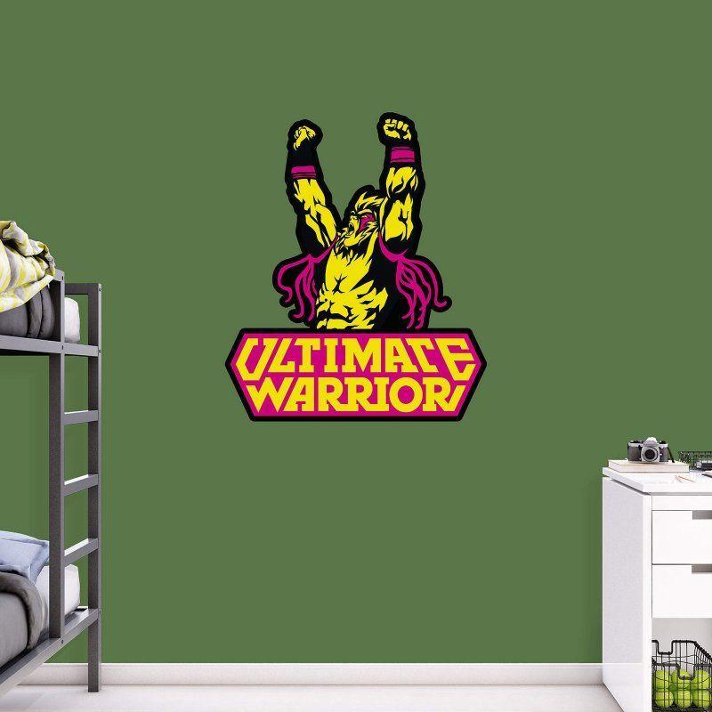 Fathead WWE Ultimate Warrior Logo Wall Decal   93 93100 Part 89