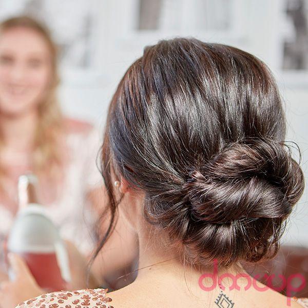 Doouup Party Style In 2020 Lockerer Zopf Frisuren Langhaar Haar Styling