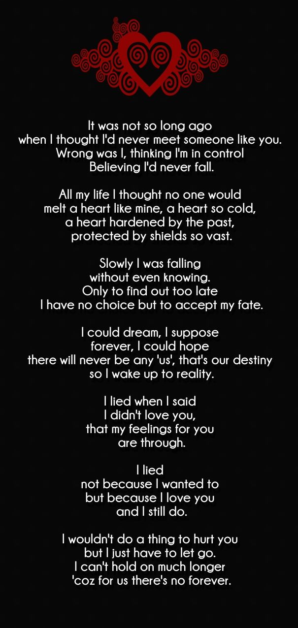 you are mine forever poem