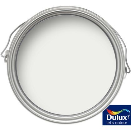 dulux pure brilliant white magic matt emulsion paint 2. Black Bedroom Furniture Sets. Home Design Ideas
