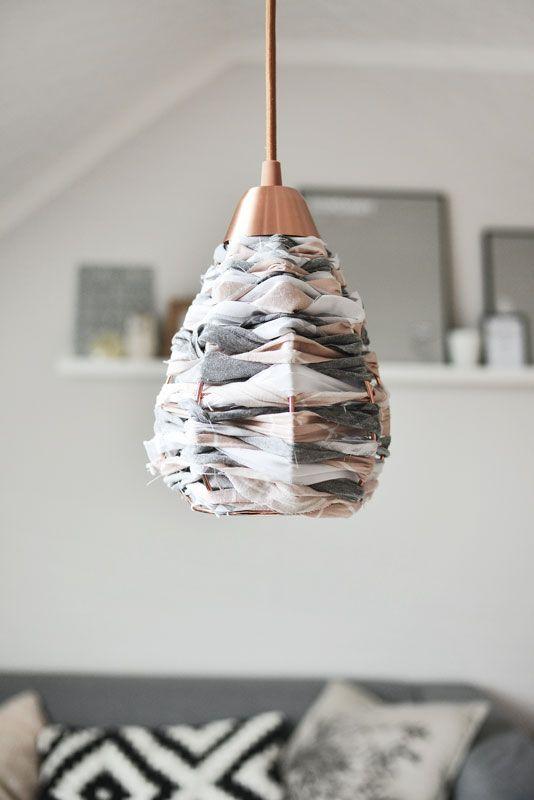 Lampenschirm Aus Stoff Diy Lampenschirm Aus Stoff Lampen Und Schirm