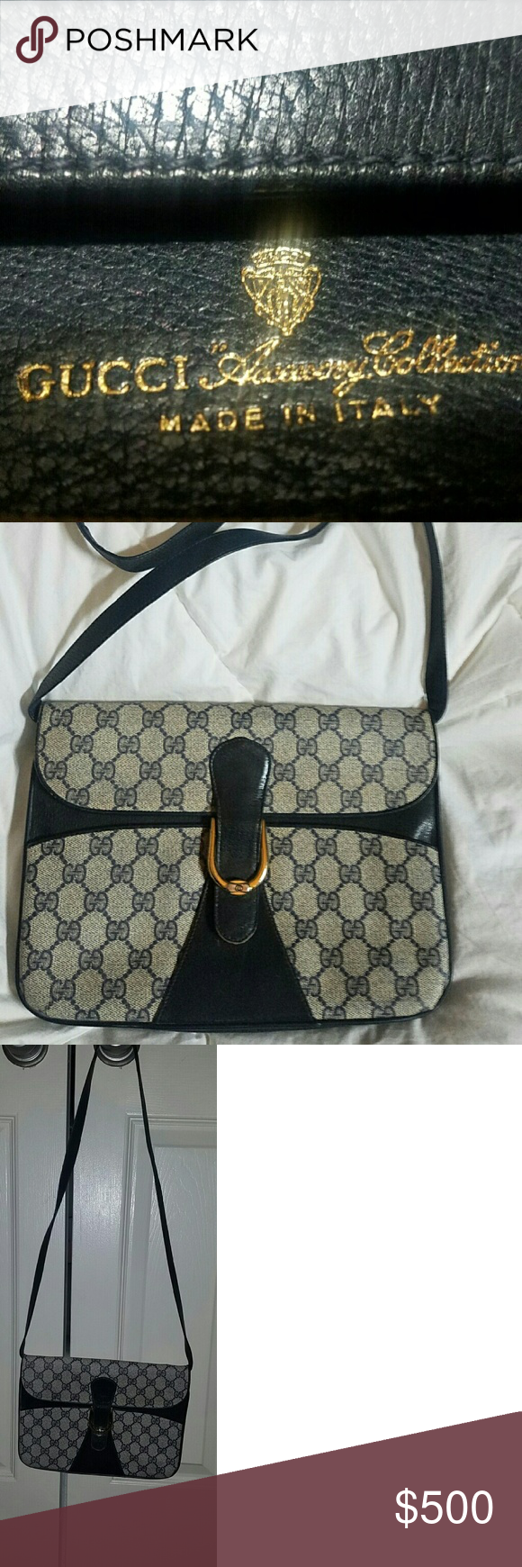 b51f9e366a5a5 Vintage 80s Gucci bag Authentic Gucci bag, purchased in Italy in ...