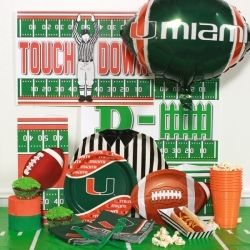 miami hurricanes themed party | theme party supplies dash