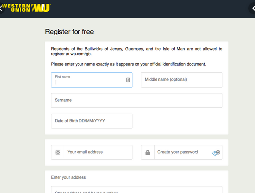How To Send Money Through Western Union Without Bank Account