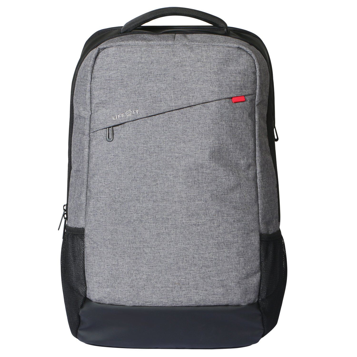 Lifewit Men Large Laptop Backpack Lightweight Slim Travel Business Computer Bag Fits Up To 17 3 Inch Grey