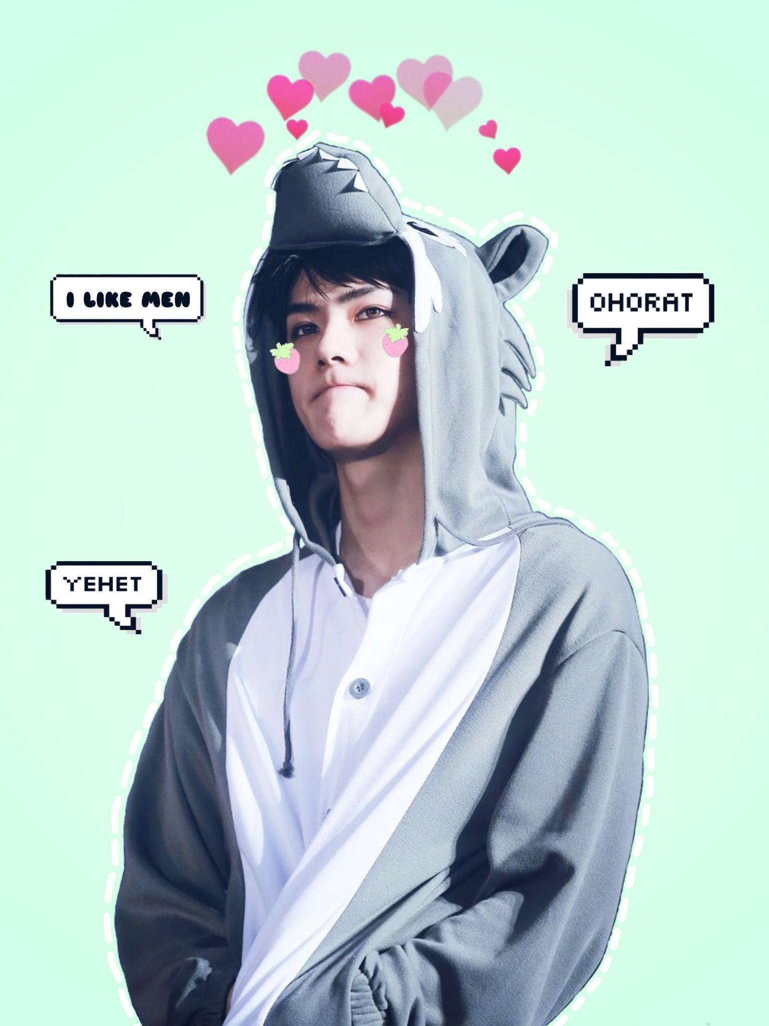 Exo Sehun Ipad Wallpaper Cr Kris Kim Exo Wallpaper In