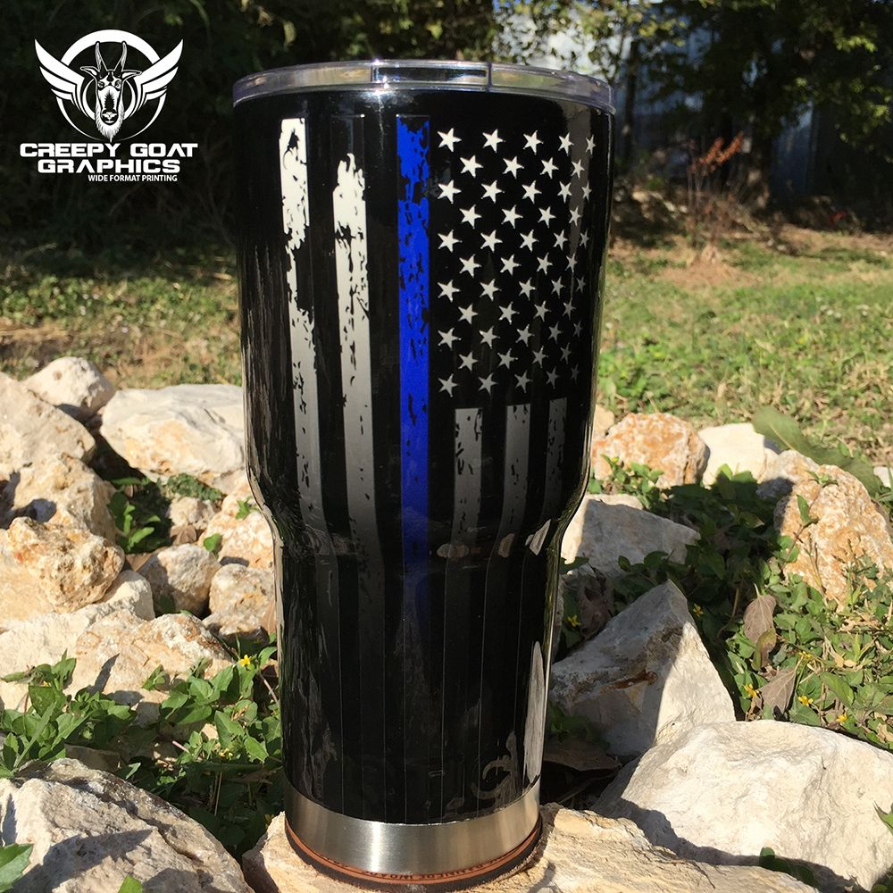 This Rtic Tumbler Is Custom Painted And Decorated With