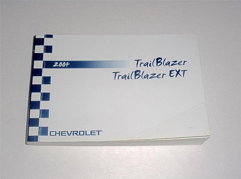 2004 chevrolet trailblazer trailblazer ext owners manual book rh pinterest com 2004 trailblazer ls owners manual 2004 chevy trailblazer owner manual
