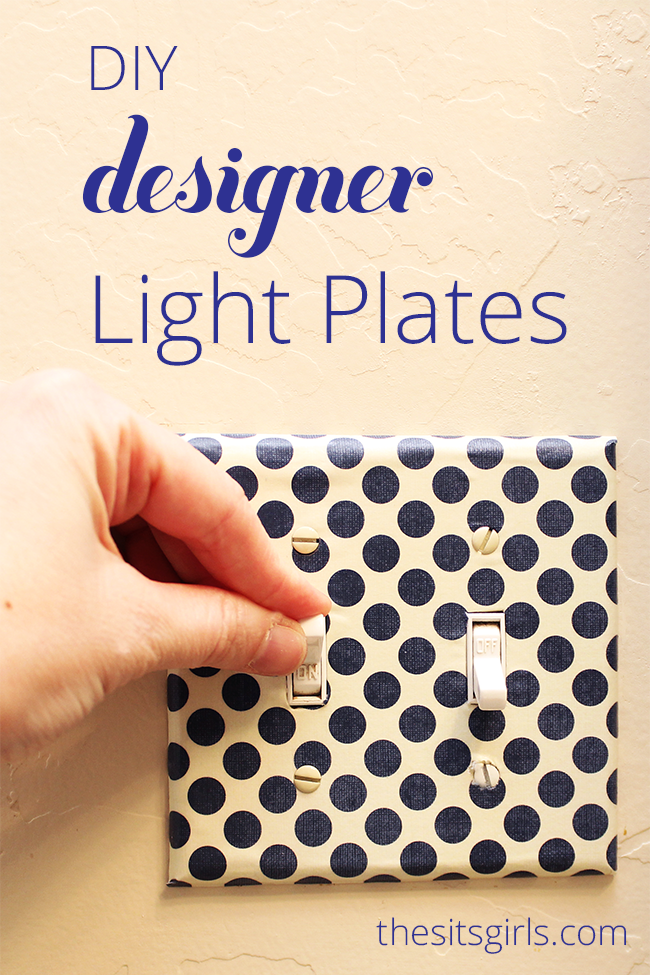 Diy Decorative Light Switch Covers Diy Projects Pinterest
