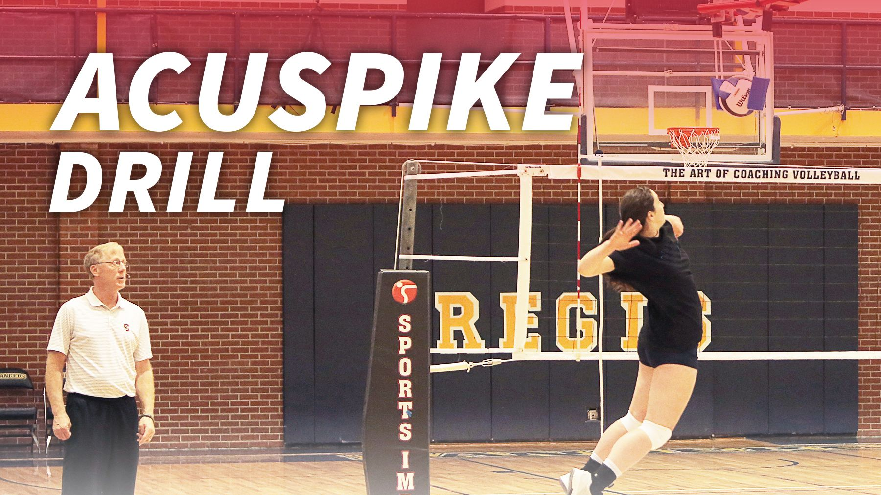 Acuspike Drill With John Dunning The Art Of Coaching Volleyball Coaching Volleyball Volleyball Drill