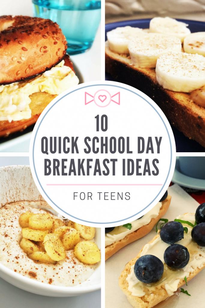 Breakfast Ideas For Teens Quick Healthy Breakfast Easy Healthy Breakfast Eat Breakfast