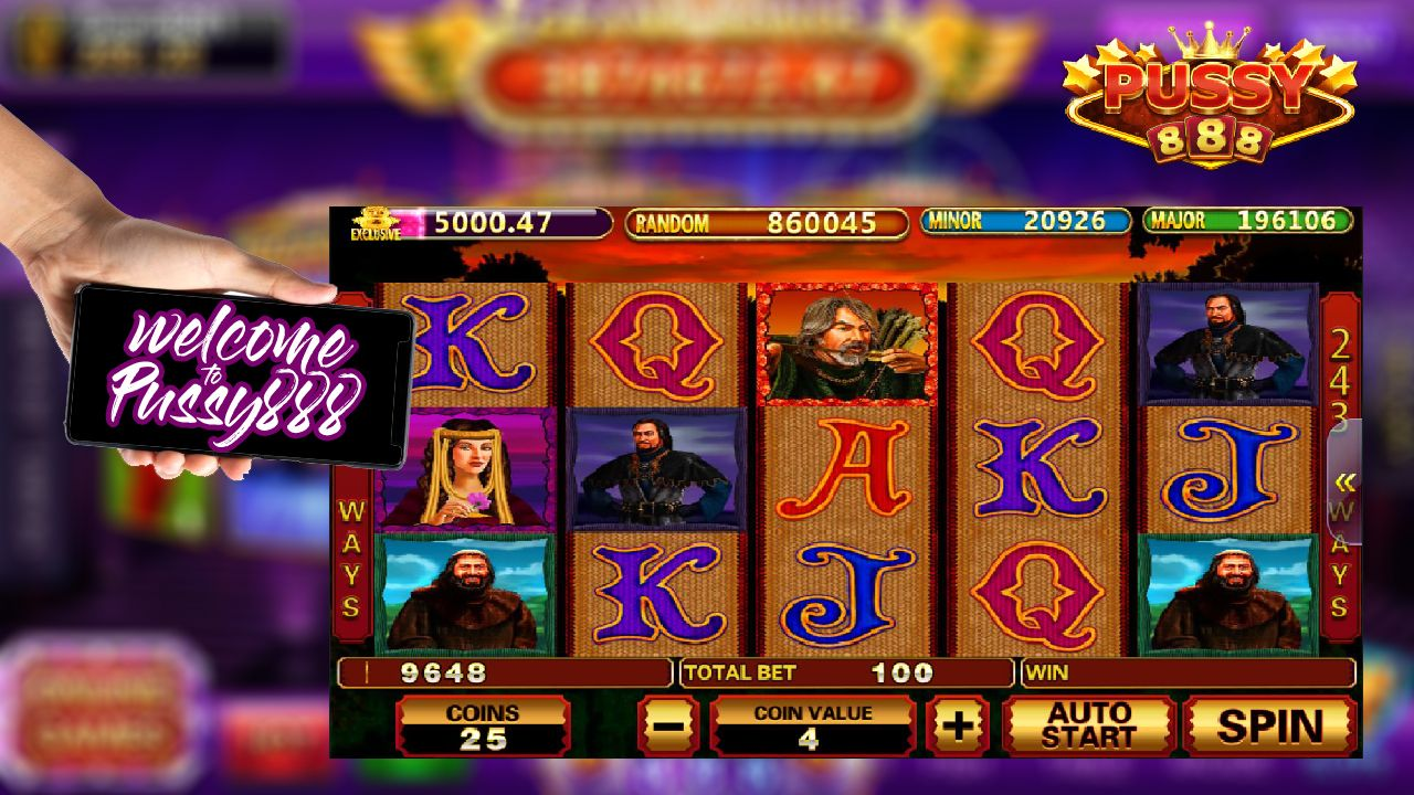 PUSSY888   ARCHER SLOT GAME   Slots games, Best casino games, Online casino  games