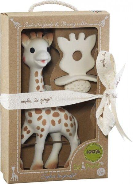 adee75e4c529 VULLI Set žirafa Sophie + kousátko z kolekce So Pure