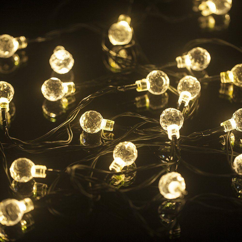 Mu0026T TECH 20 LED Christmas Lights Solar String Fairy Lights For Outdoor,  Party, Garden